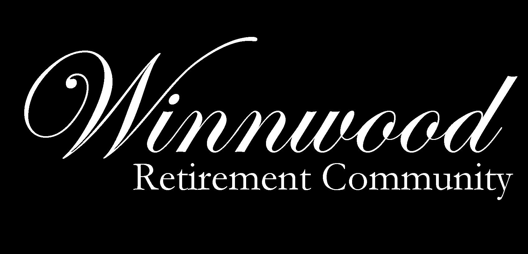 Winnwood White Logo