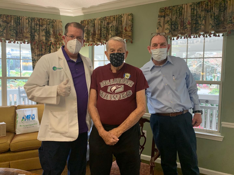 Winnwood Residents Receive COVID-19 Vaccine