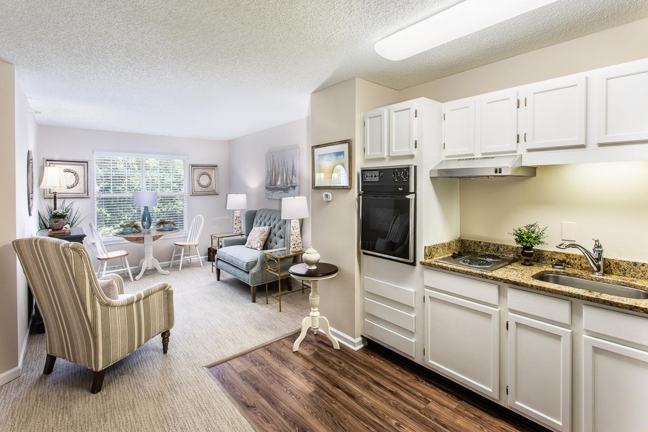 Winn One Bedroom Kitchen